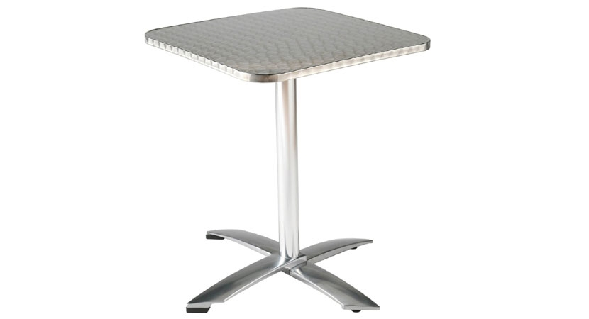 Standing TableSquare Industrial Kitchen Equipments SS Standing - Standing cafe table