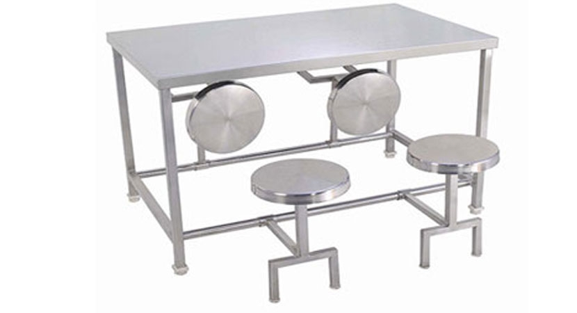foldable dining table industrial kitchen equipments | ss foldable